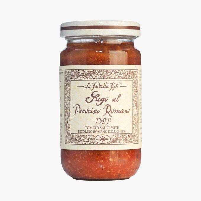 Sauce à la tomate avec fromage Pecorino Romano DOP La Favorita