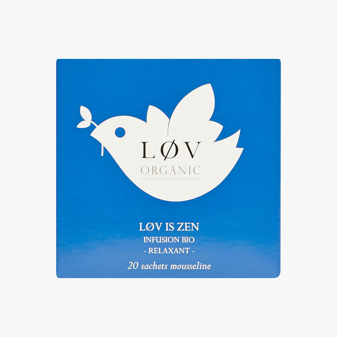 Lov is Zen, tin of 20 sachets Lov Organic