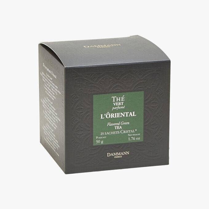 Thé vert parfumé l'Oriental - Boîte de 25 sachets Dammann Frères