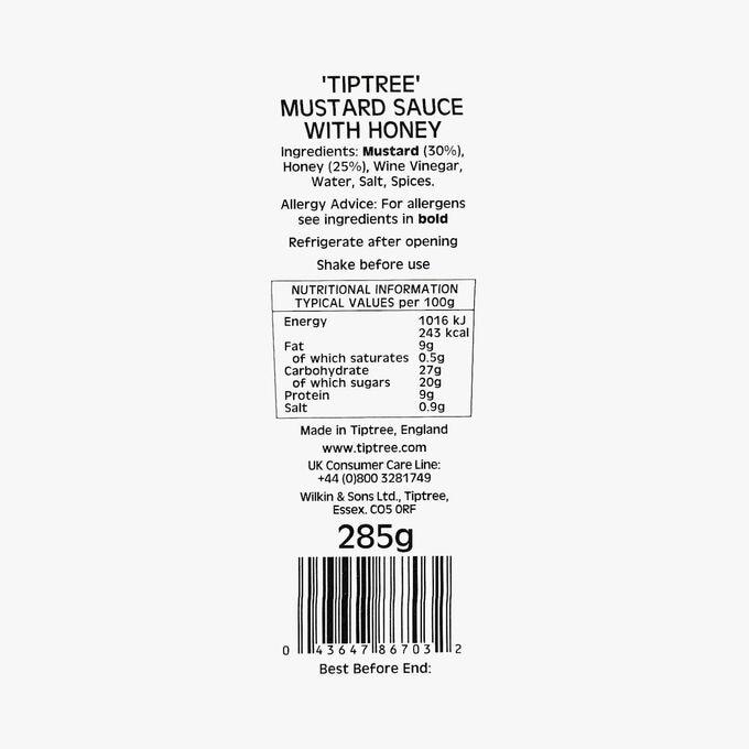 Sauce à la moutarde et au miel Triptee Wilkin & Sons
