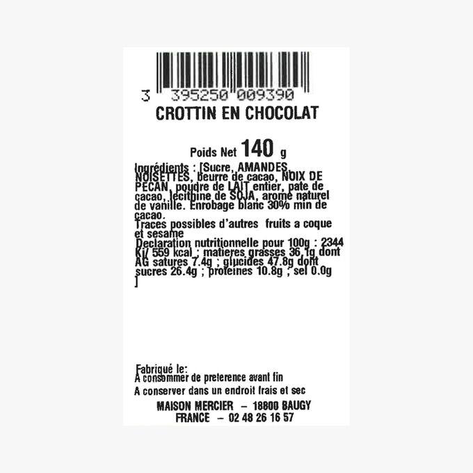 Chocolate crottin Daniel Mercier