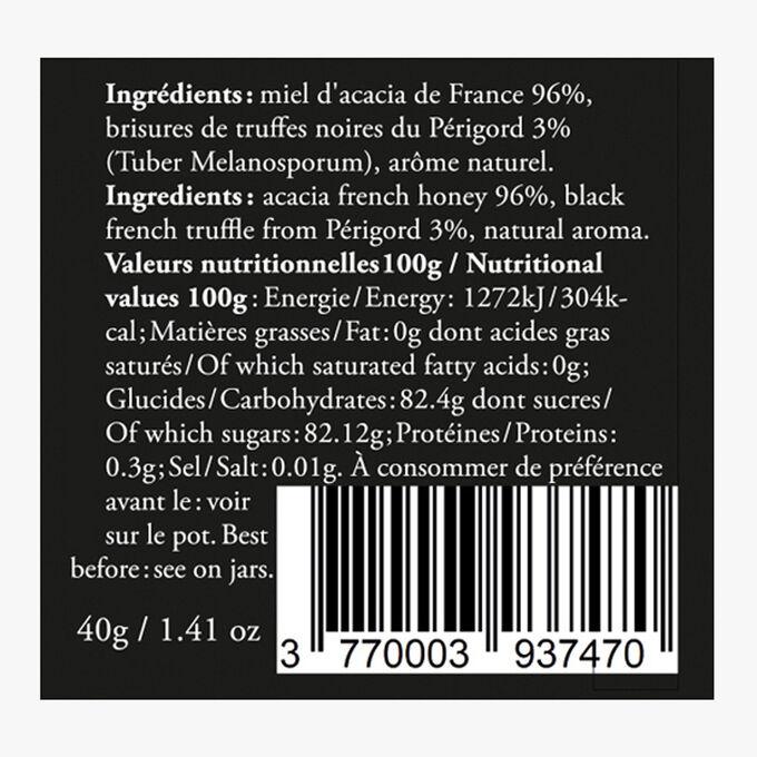 Acacia and black truffle honey Hédène
