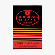 Fruits & flowers of the sun - Rooibos, strawberry, vanilla & grapefruit Compagnie Coloniale