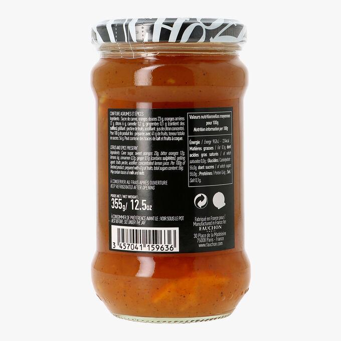 Confiture agrumes et épices Fauchon