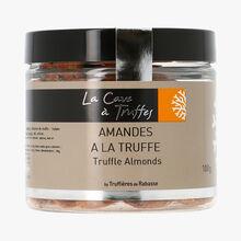 Almonds with truffle Tuber Melanosporum 1 % La Cave à Truffes