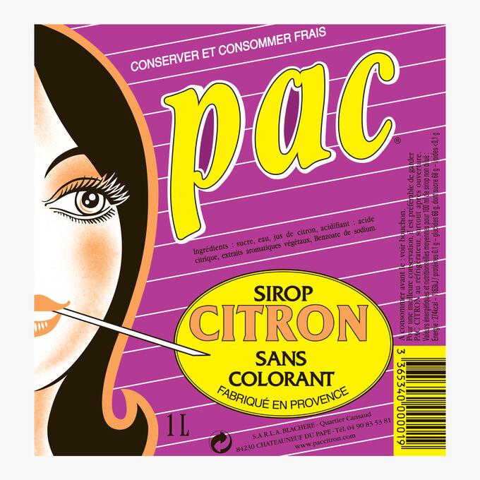Pac - Sirop citron Distillerie A.Blachere