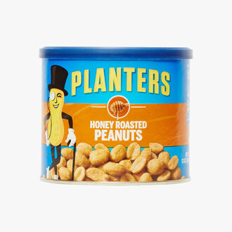 Toasted peanuts with honey Planters