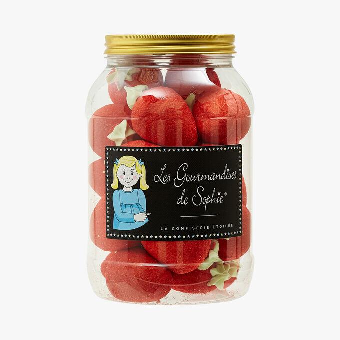 Confiseries fantaisie - Grosses fraises Les Gourmandises de Sophie