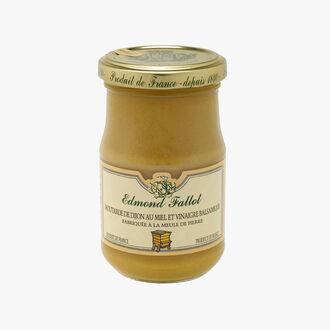 Dijon mustard with honey and balsamic vinegar Fallot