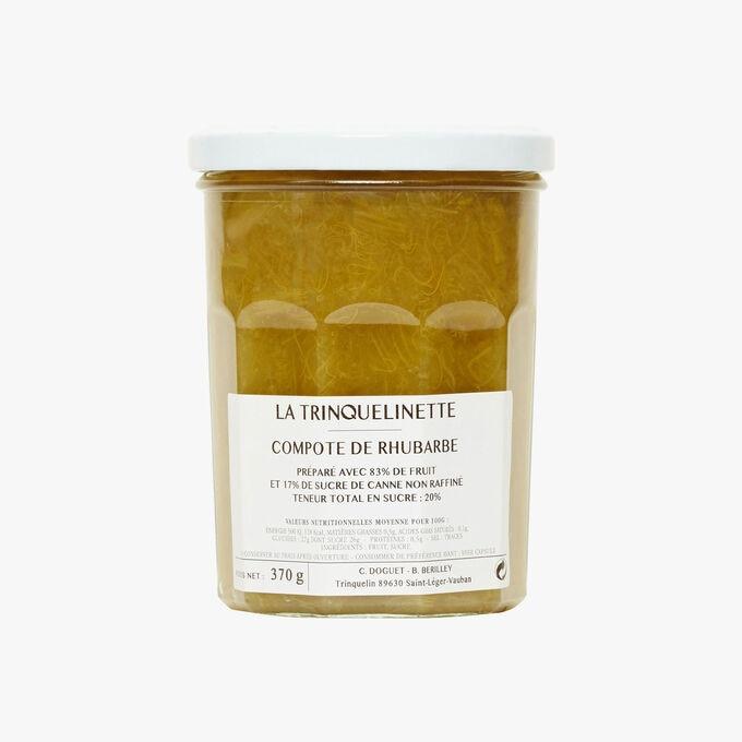 Rhubarb compote La Trinquelinette