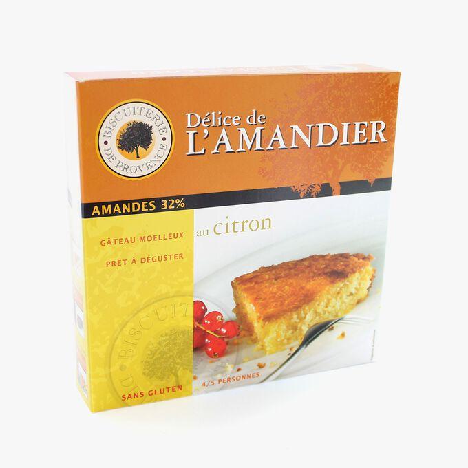 Gâteau aux amandes et au citron sans gluten Biscuiterie de Provence