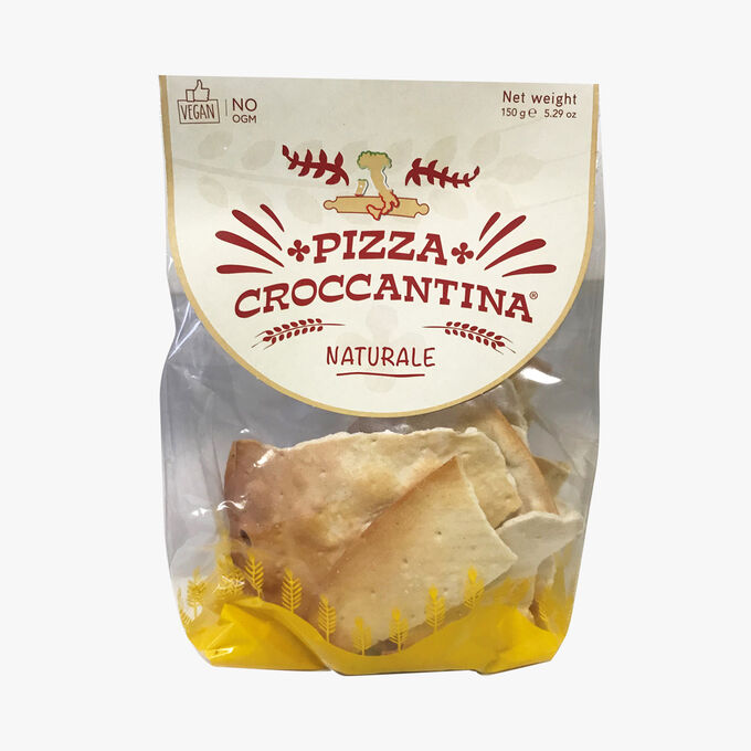 Crunchy plain pizza Pizza Croccantina