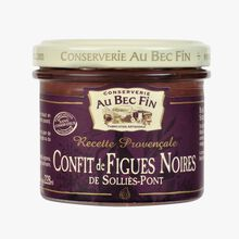 Solliès-Pont candied black fig Au Bec Fin