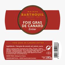 Foie gras de canard entier Maison Barthouil