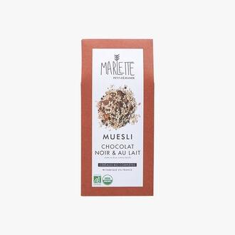 Dark and milk chocolate & muesli Marlette