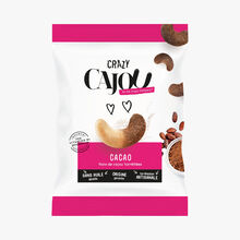 Noix de cajou torréfiées «Cacao» Crazy Cajou