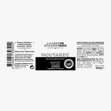 Protected Geographical Indication Bourgogne mustard  La Grande Épicerie de Paris