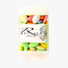 Dragées au chocolat cacao 70 % toutes couleurs Reynaud