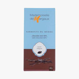 Brins de chocolat noir Mademoiselle de Margaux