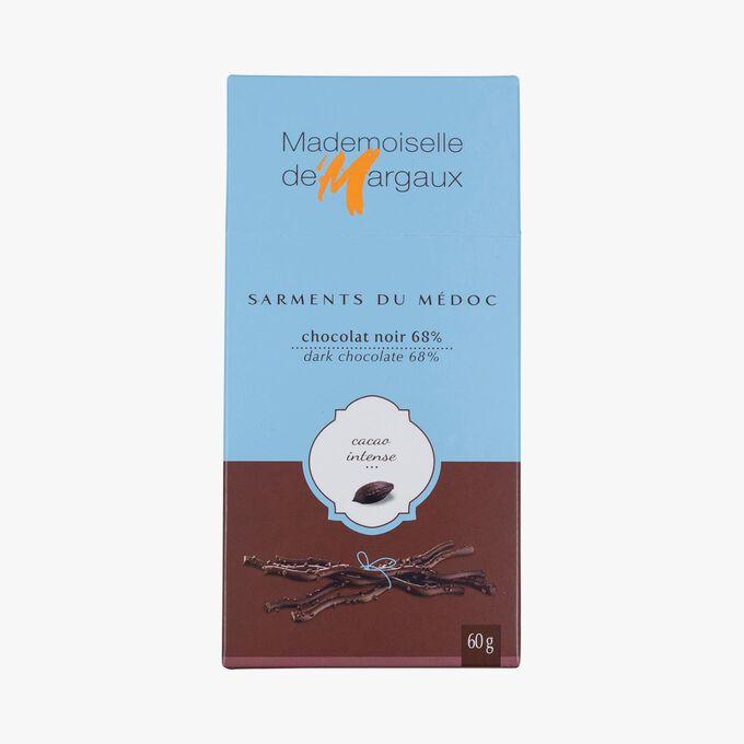 Dark chocolate twigs Mademoiselle de Margaux