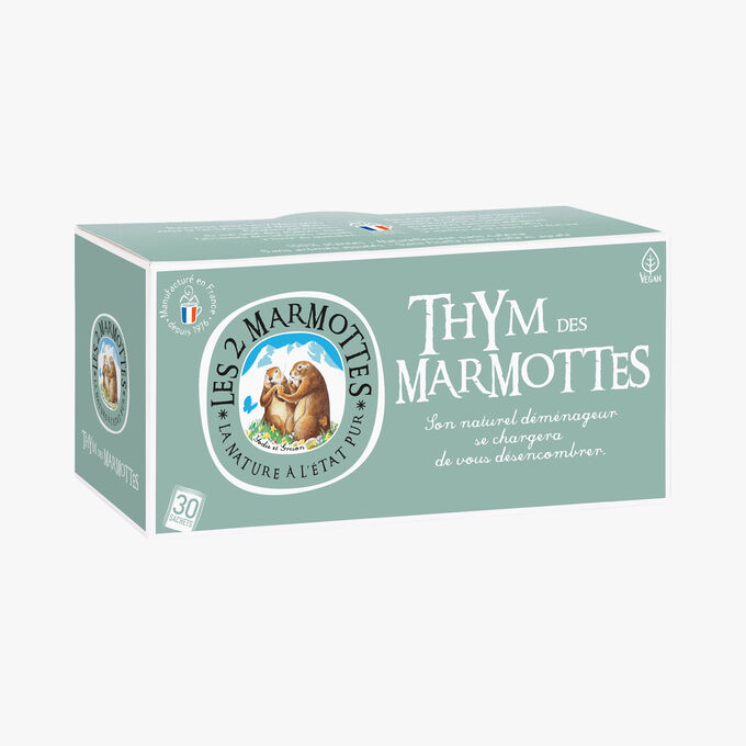 Thyme infusion Les 2 Marmottes