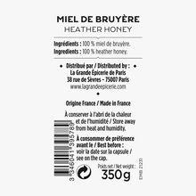 Miel de bruyère La Grande Épicerie de Paris