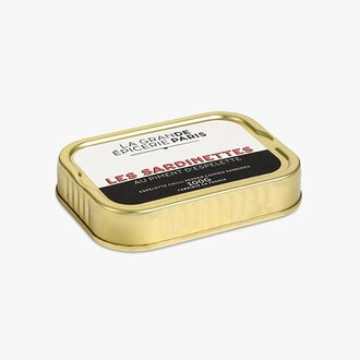 Small sardines in extra virgin olive oil with Espelette chili La Grande Épicerie de Paris