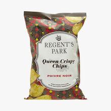 Chips de pommes de terre au poivre noir Regent's park