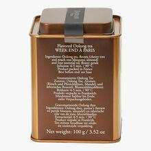 Week-End in Paris  N° 501, Oolong perfumed tea Dammann Frères