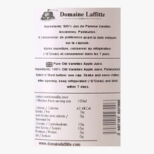 Pur jus de pomme variétés anciennes Domaine Laffitte