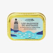 Les Sardines de Bretagne à l'huile d'olive vierge extra millésime 2020 La Grande Épicerie de Paris