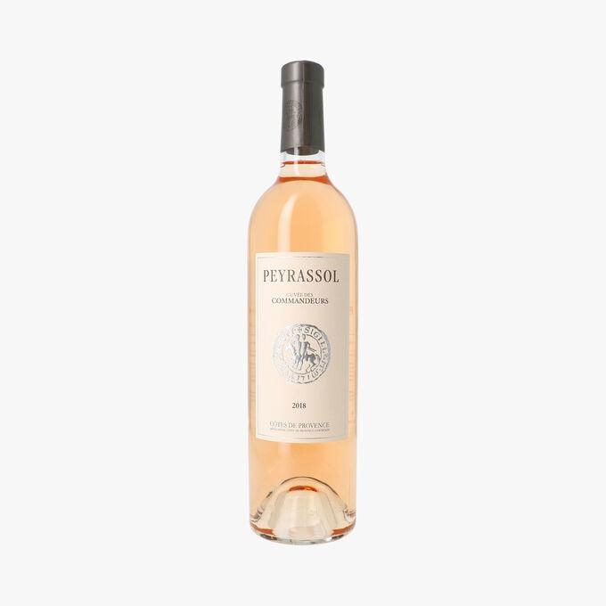Peyrassol, rosé 2018, Cuvée des commandeurs, AOC Côtes de Provence Peyrassol