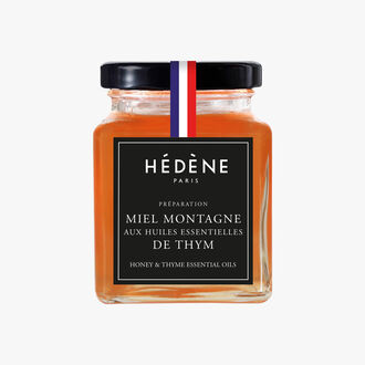 Mountain honey with thyme essential oil Hédène