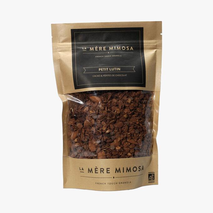 Granola Petit Lutin cacao et pépites de chocolat La Mère Mimosa
