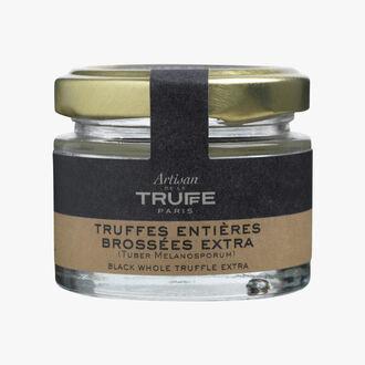 Whole black truffles, Extra Grade  Artisan de la truffe