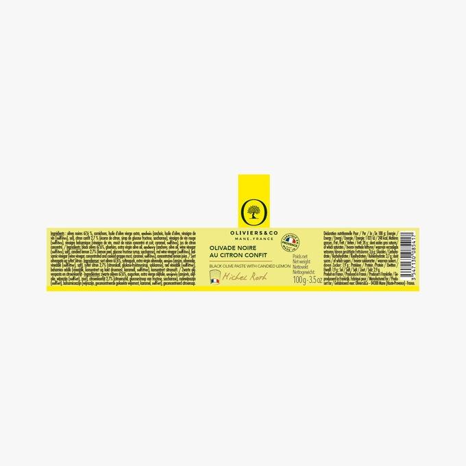 Olivade noire au citron confit Oliviers & Co