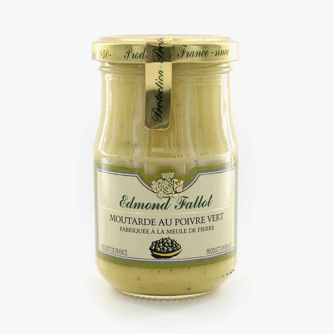Moutarde au poivre vert Fallot