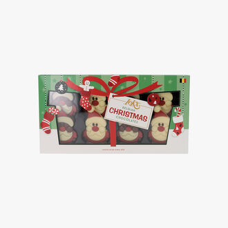 8 père Noël en chocolat Chocolaterie IcKX