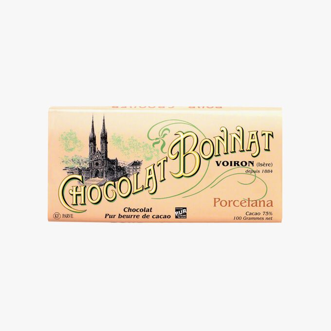 Porcelana chocolate Bonnat