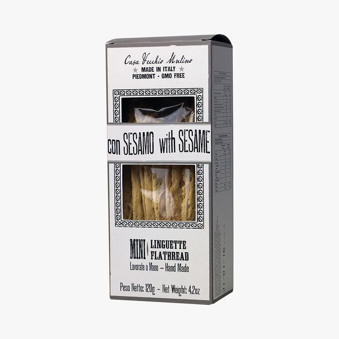 Mini linguette avec grains de sésame Casa Vecchio Mulino