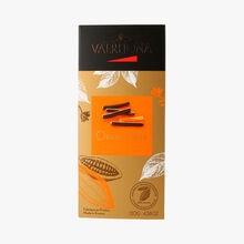 Dark chocolate orangettes Valrhona