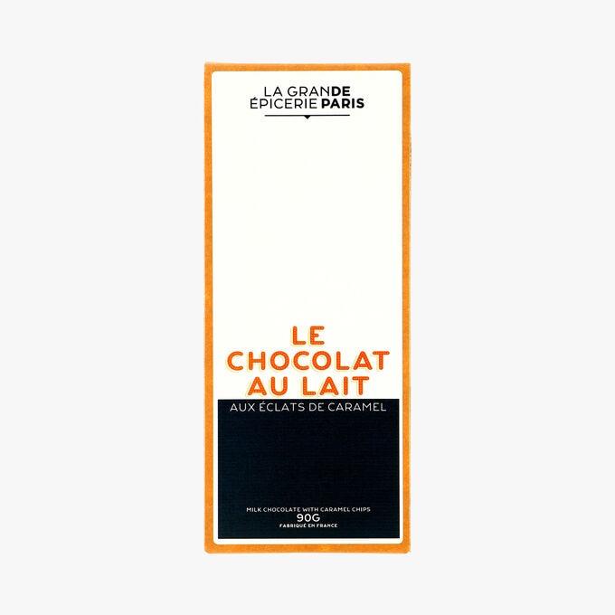 Le chocolat au lait aux éclats de caramel La Grande Épicerie de Paris