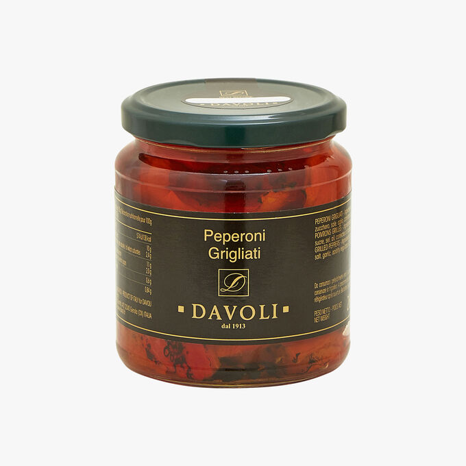Peperoni Grigliati - Grilled Peppers Davoli