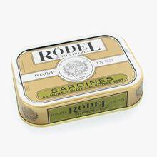 Sardines à l'huile d'olive et au poivre vert Rödel