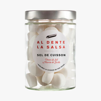 Sel de cuisson, doses de sel marin de Sicile Al dente la salsa