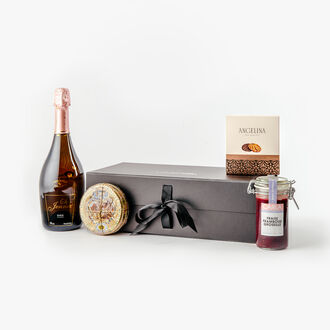 Alcohol-free sweet treat gift box null