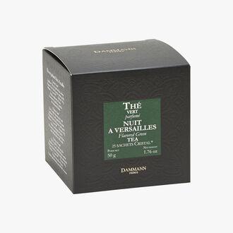 Nuit à Versailles flavoured green tea - Box of 25 teabags Dammann Frères