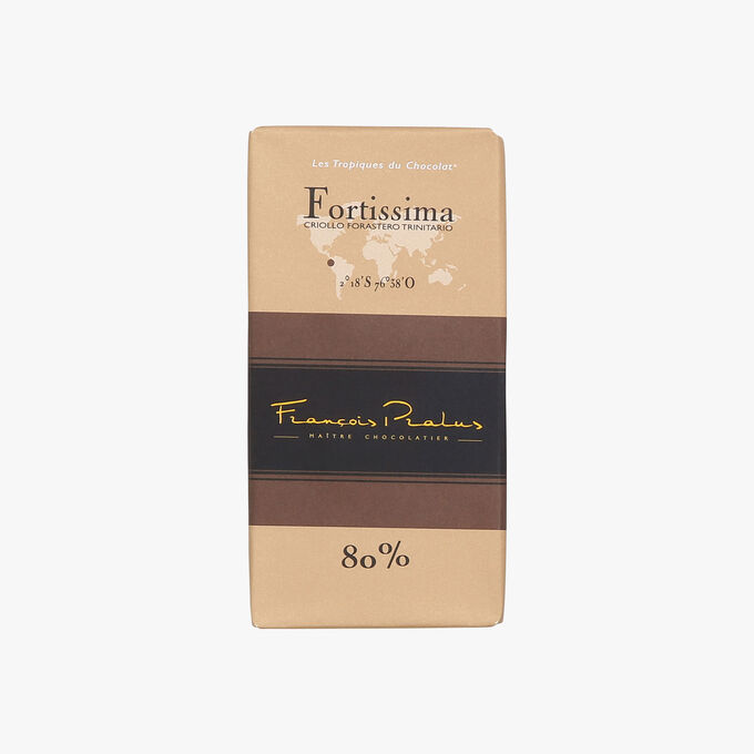 Tablette fortissima 80% Pralus