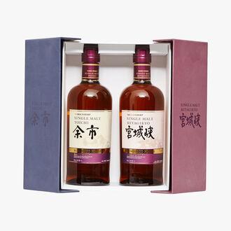 Yoichi Whisky gift set& Miyagikyo Distillerie Nikka Whisky