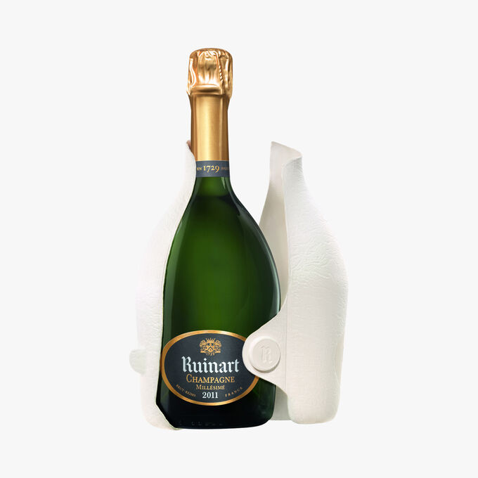Champagne Ruinart Brut Millésimé 2011, étui Seconde Peau Ruinart